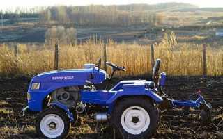 Мини-трактора Скаут, модельный ряд — технические характеристики