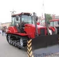 Гусеничный трактор Беларус особенности моделей 2103 и 1502