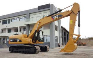 Экскаватор Caterpillar 320. Технические характеристики, цены и аналоги