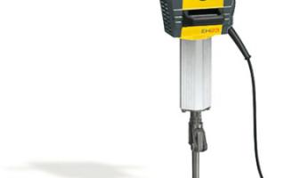 Технические характеристики, фото и видео электрических бетоноломов: бош (BOCSH), Интерскол, Макита (Makita)