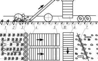 Ботвоуборочная машина БМ-6: схема и регулировка
