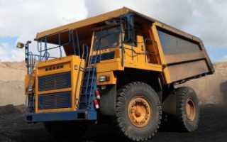 БелАЗ 7555: технические характеристики, модификации, фото, видео, инструкция по эксплуатации