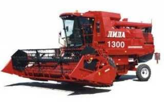 Зерноуборочные комбайны Лида 1300, 1500, 1600: технические характеристики, фото и видео