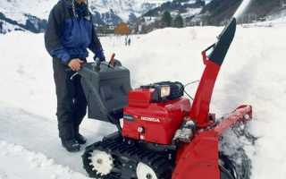 Самоделки снегоуборщиков — варианты изготовления своими руками