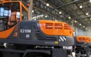 Характеристика нового экскаватора от ЭКСМАШ модели E-210W