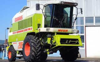 Комбайн Claas Mega 208 — немецкий импорт в украинском агросекторе