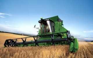 Фото, видео, технические характеристики зерноуборочных комбайнов Джон Дир серий W, S, T