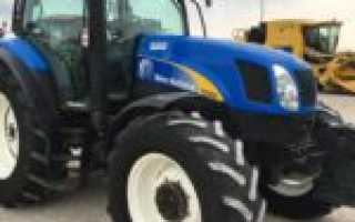 Трактор New Holland T6050 — бюджетная модель для украинского аграрного сектора