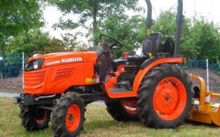Минитрактор Kubota B2420 — экономичный универсал для начального фермерского бизнеса
