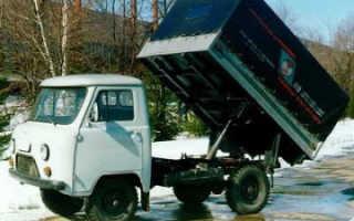 Как сделать из УАЗ-3303 самосвал своими руками: инструкция, особенности, фото и видео