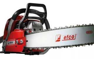 Бензопила EFCO 137-41: обзор и отзывы