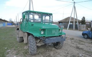 Трактор на базе автомобиля ГАЗ — плюсы и минусы переделки, видео