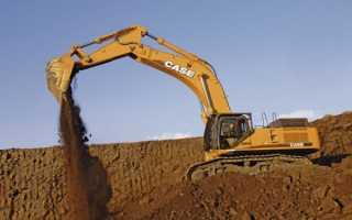 Case (Касе) экскаватор гусеничный: техническое оснащения, силовая установка, б/у (фото, цена), параметры