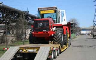 Трактор Кировец К-744 — модификации, технические характеристики