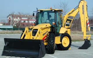 Кomatsu wb97s 5, комацу wb93r 5 — модификации колесного экскаватора-погрузчика комацу, технические характеристики