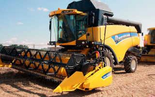 Комбайн New Holland CX 6090 — зерноуборочная машина высочайшего уровня