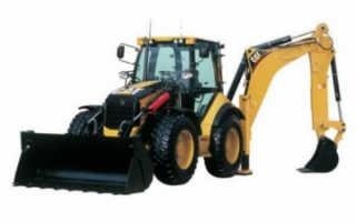 Обзор экскаваторов-погрузчиков Катерпиллер (Caterpillar): CAT 428f, 444E, 432E