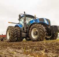 Трактор New Holland T6090 — универсал сельскохозяйственного профиля