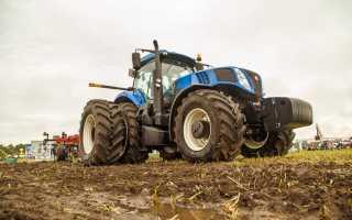 Трактор New Holland TD5.100 — экономичная машина средней мощности