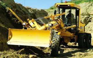 Автогрейдер ДЗ — 122: технические характеристики (двигатель, гидроцилиндр, задний мост), производитель, фото, видео