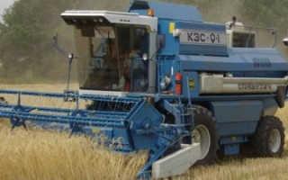 Зерноуборочный комбайн славутич (КЗС-9.1): технические характеристики, фото и видео