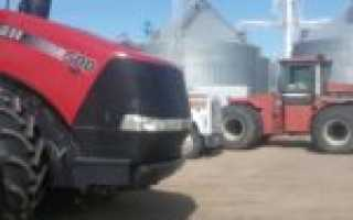 Трактор Case IH Steiger 500 — агрегат для крупного фермерского бизнеса