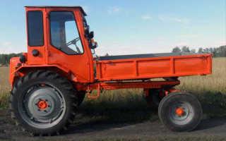 Трактор ХТЗ Т-16 — универсал с нестандартной компоновкой