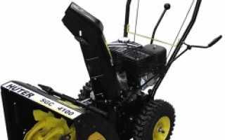Снегоуборщик Huter SGC 4800: устройство, технические характеристики, фото и видео