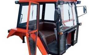 Самодельная кабина для минитрактора своими руками