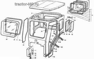 Кабина трактора Т-40: схема и самодельная