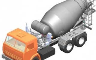 Автобетоносмеситель СБ-92-1А: технические характеристики, принцип работы, устройство, фото