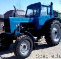 Трактор МТЗ-82 — описание, технические характеристики, цены и видео