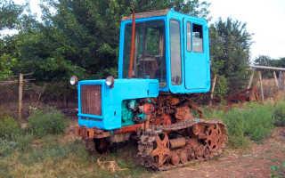 Трактор Т 70 — Технические характеристики. Вес и габаритные размеры