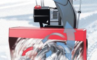 Двухступенчатый или одноступенчатый снегоуборщик — какой выбрать?