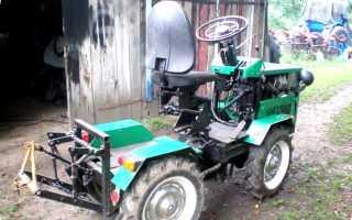 Самодельный трактор-переломка 4×4 своими руками (с двигателем): рекомендации и советы по сборке