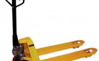 Гидравлическая тележка Noblift AC 25: технические характеристики, модификации, фото