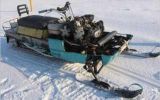 Снегоход из мотокультиватора – особенности изготовления