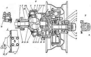 Устройство переднего и заднего моста УАЗ 469
