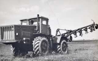 Трактор К744 «Кировец» — Технические характеристики . Топтехник.ру