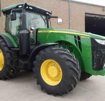 Трактор John Deere 8320R – тандем мощности и компьютерного интеллекта