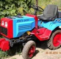Трактор ХТЗ Т-25 — мини-универсал для малого бизнеса