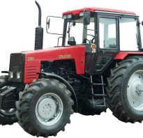 Трактор МТЗ 1221 — особая модель для серьезных задач