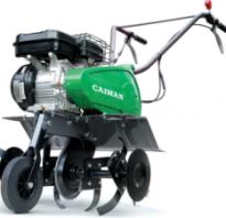 Бензиновые и электрические культиваторы Кайман (Caiman): технические характеристики, фото и видео