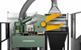 Обзор промышленного измельчителя отходов от Europarts