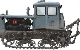 Трактор Т 74 «Гусеничный» — Технические характеристики . Эсплуатация