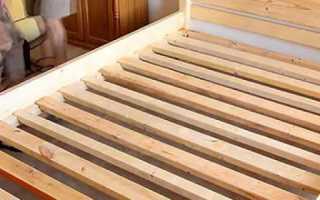 Кровать своими руками из дерева: фото, чертежи, видео сборки