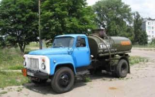 Бензовоз на базе ГАЗ-53: устройство, технические характеристики, фото и видео