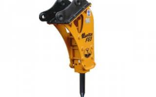 Гидромолот Дельта Ф5: производитель, устройство, технические характеристики, фото и видео