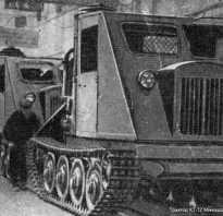 Трелевочный трактор КТ-12