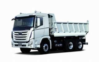 Технические характеристики, фото и видео самосвалов Хендай (Hyundai) hd 78, hd 170, hd 270